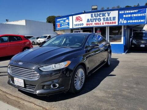 2014 Ford Fusion for sale at Lucky Auto Sale in Hayward CA