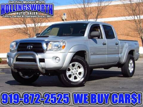 2008 Toyota Tacoma for sale at Hollingsworth Auto Sales in Raleigh NC
