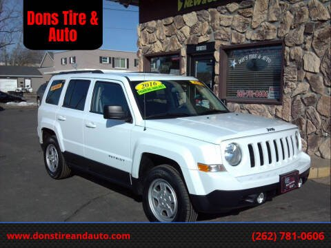 2016 Jeep Patriot for sale at Dons Tire & Auto in Butler WI