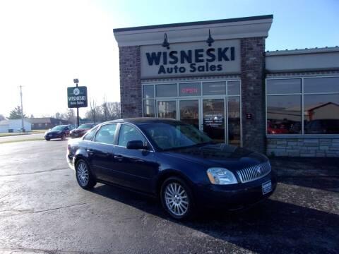 2006 Mercury Montego for sale at Wisneski Auto Sales, Inc. in Green Bay WI