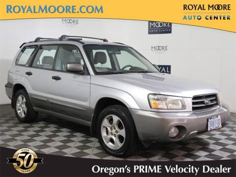 2003 Subaru Forester for sale at Royal Moore Custom Finance in Hillsboro OR