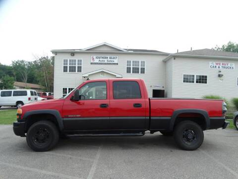 2006 GMC Sierra 2500HD for sale at SOUTHERN SELECT AUTO SALES in Medina OH