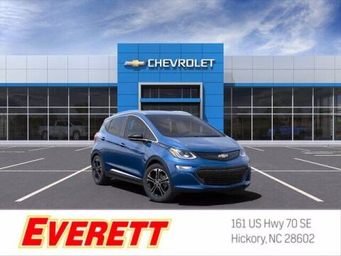 2021 Chevrolet Bolt EV for sale at Everett Chevrolet Buick GMC in Hickory NC