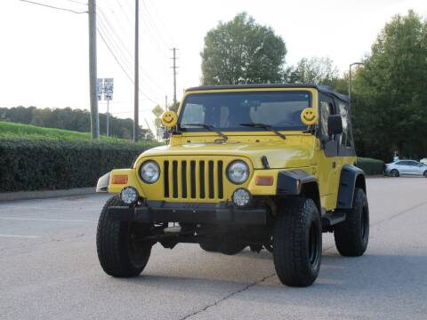 2001 Jeep Wrangler for sale at Best Import Auto Sales Inc. in Raleigh NC