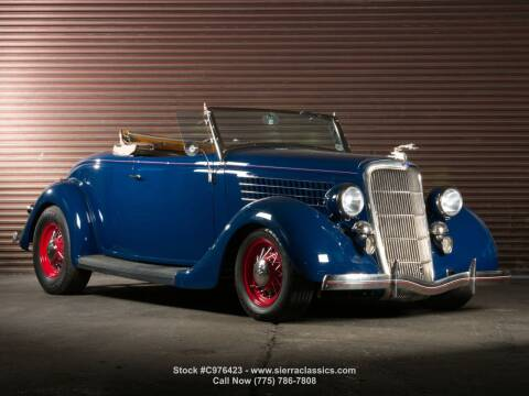 1935 Ford Cabriolet  for sale at Sierra Classics & Imports in Reno NV