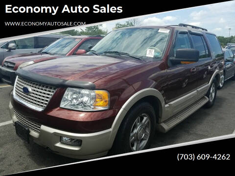 2006 Ford Expedition for sale at Economy Auto Sales in Dumfries VA