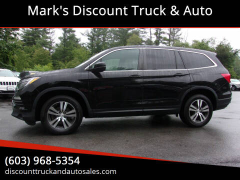 2017 Honda Pilot for sale at Mark's Discount Truck & Auto in Londonderry NH
