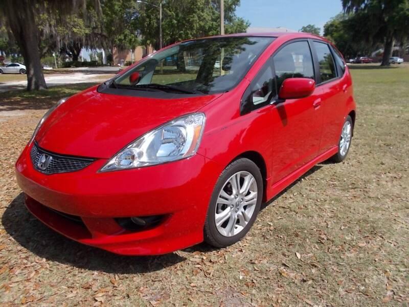 2009 Honda Fit for sale at LANCASTER'S AUTO SALES INC in Fruitland Park FL