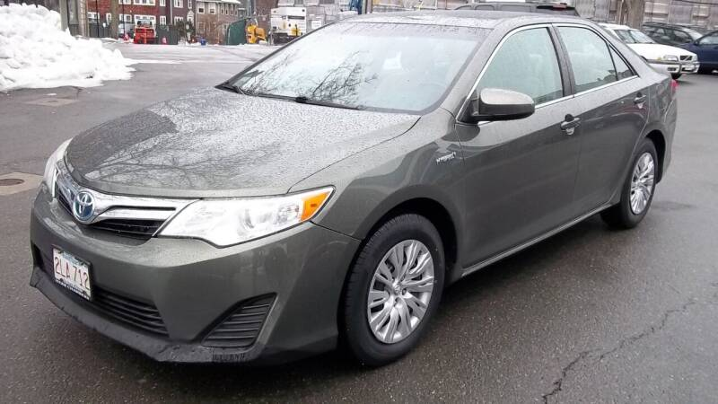 2012 Toyota Camry Hybrid for sale at Cypress Automart in Brookline MA