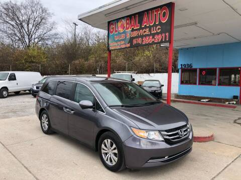 2016 Honda Odyssey for sale at Global Auto Sales and Service in Nashville TN