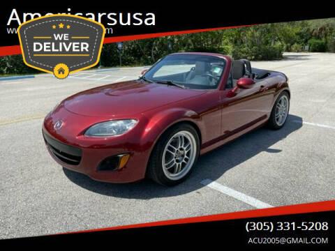 2012 Mazda MX-5 Miata for sale at Americarsusa in Hollywood FL