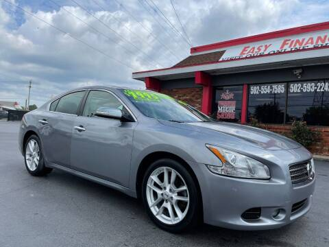 2009 Nissan Maxima for sale at Premium Motors in Louisville KY