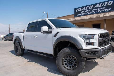 2017 Ford F-150 for sale at Beach Auto and RV Sales in Lake Havasu City AZ
