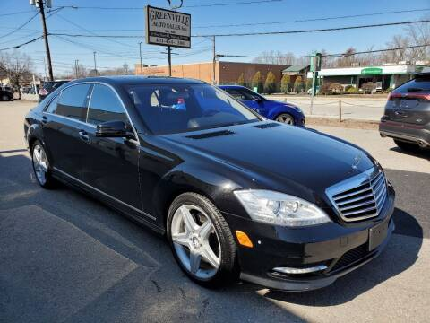 2010 Mercedes-Benz S-Class for sale at Greenville Auto Sales in Warwick RI