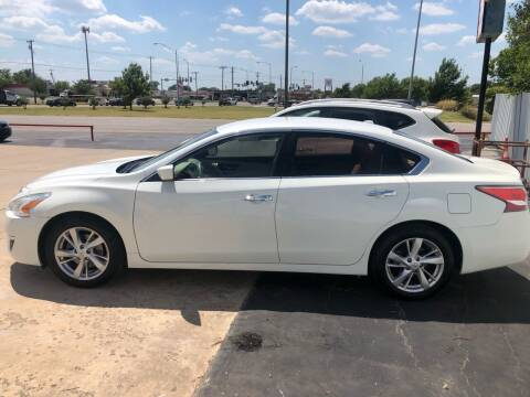 2014 Nissan Altima for sale at Moore Imports Auto in Moore OK