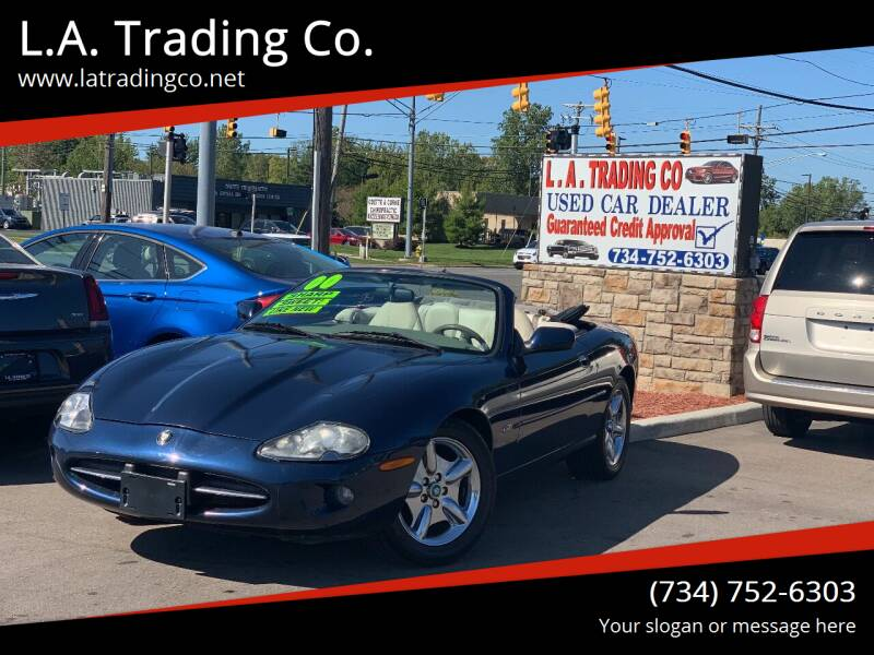 1999 Jaguar XK-Series for sale at L.A. Trading Co. in Woodhaven MI
