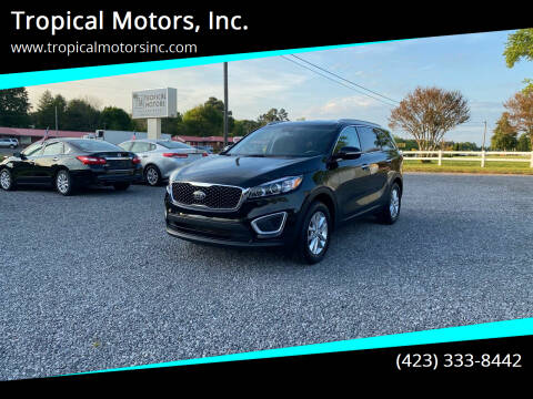 2017 Kia Sorento for sale at Tropical Motors, Inc. in Riceville TN
