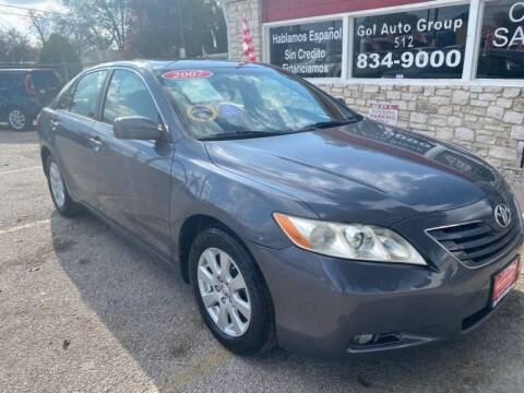 2007 Toyota Camry for sale at GOL Auto Group in Austin TX