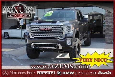 2020 GMC Sierra 2500HD for sale at Luxury Motorsports in Phoenix AZ