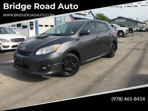 2009 Toyota Matrix for sale at Bridge Road Auto in Salisbury MA