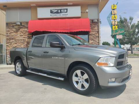 2012 RAM Ram Pickup 1500 for sale at 719 Automotive Group in Colorado Springs CO