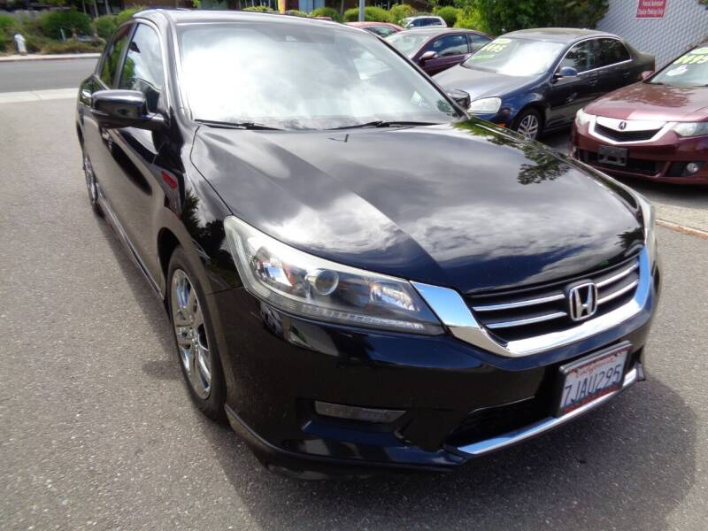 2014 Honda Accord for sale at NorCal Auto Mart in Vacaville CA