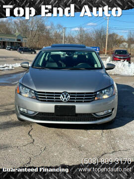 2012 Volkswagen Passat for sale at Top End Auto in North Atteboro MA