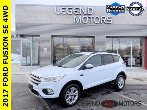 2017 Ford Escape for sale at Legend Motors of Detroit - Legend Motors of Waterford in Waterford MI