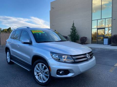 2014 Volkswagen Tiguan for sale at TDI AUTO SALES in Boise ID