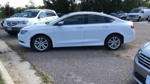 2016 Chrysler 200 for sale at Reliable Auto in Cannon Falls MN