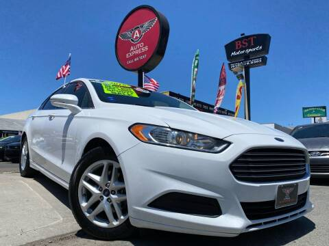 2016 Ford Fusion for sale at Auto Express in Chula Vista CA