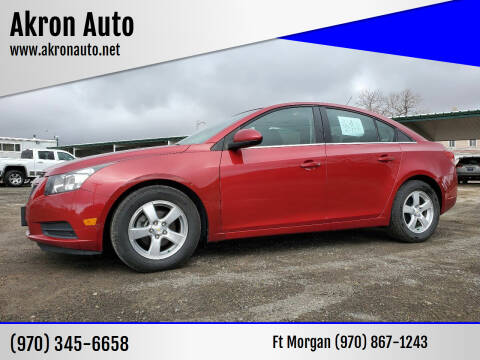 2011 Chevrolet Cruze for sale at Akron Auto - Fort Morgan in Fort Morgan CO
