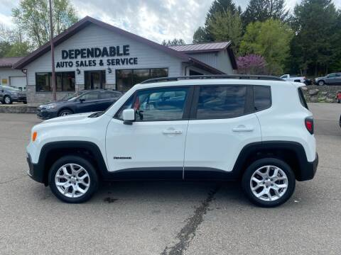 2015 Jeep Renegade for sale at Dependable Auto Sales and Service in Binghamton NY