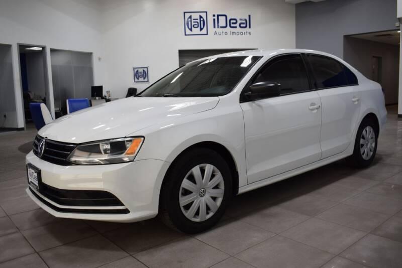 2016 Volkswagen Jetta for sale at iDeal Auto Imports in Eden Prairie MN