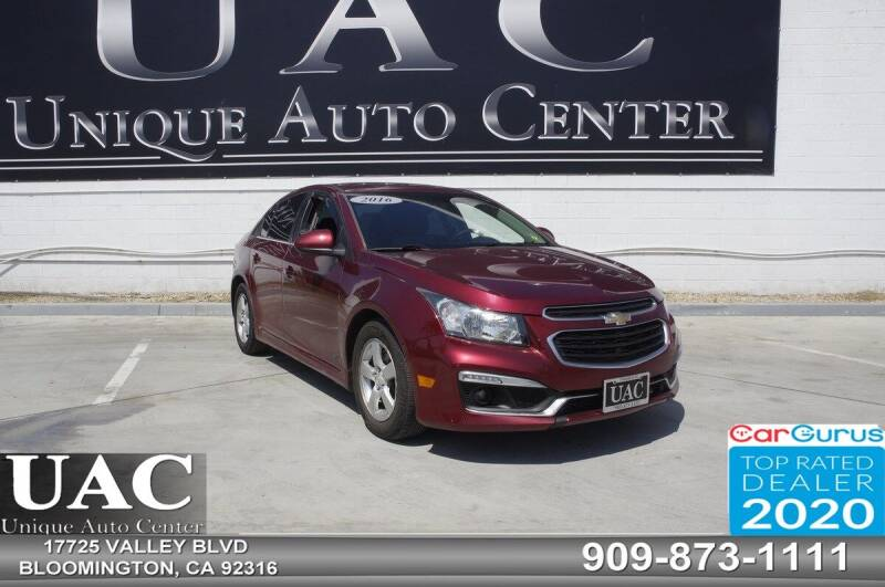 2016 Chevrolet Cruze Limited for sale in Bloomington, CA