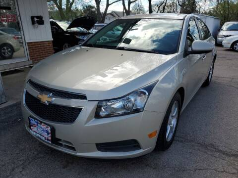 2014 Chevrolet Cruze for sale at New Wheels in Glendale Heights IL