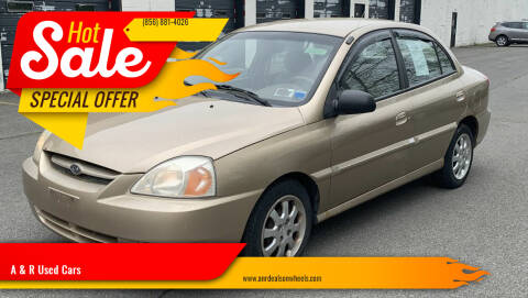 2004 Kia Rio for sale at A & R Used Cars in Clayton NJ