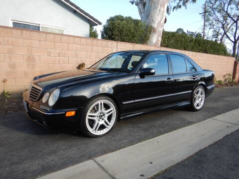 2001 Mercedes-Benz E-Class for sale at California Cadillac & Collectibles in Los Angeles CA
