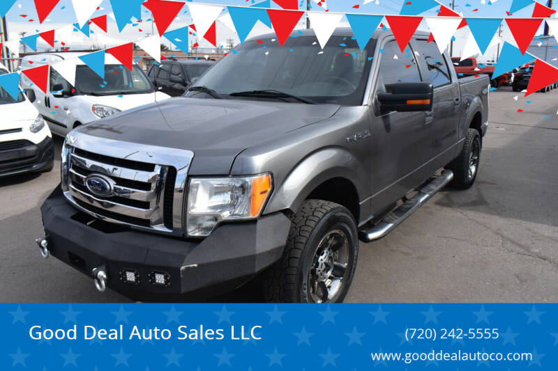 2011 Ford F-150 for sale at Good Deal Auto Sales LLC in Denver CO