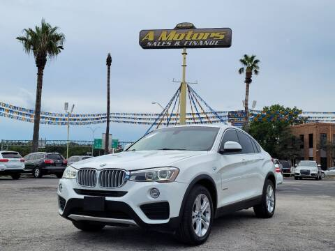 2015 BMW X4 for sale at A MOTORS SALES AND FINANCE in San Antonio TX