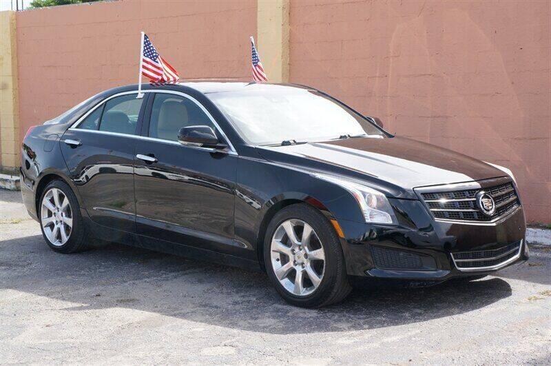 2013 Cadillac ATS for sale at Concept Auto Inc in Miami FL