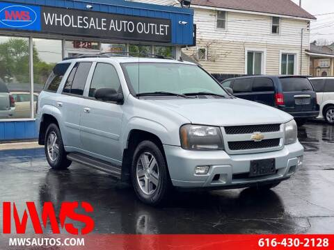 2007 Chevrolet TrailBlazer for sale at MWS Wholesale  Auto Outlet in Grand Rapids MI