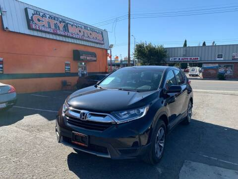 2019 Honda CR-V for sale at City Motors in Hayward CA