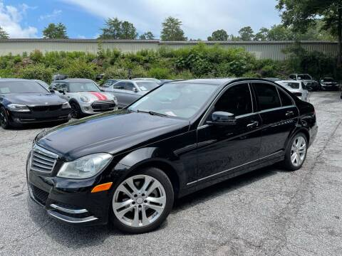 2013 Mercedes-Benz C-Class for sale at Car Online in Roswell GA
