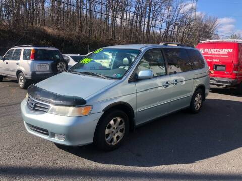 2002 Honda Odyssey for sale at 22nd ST Motors in Quakertown PA