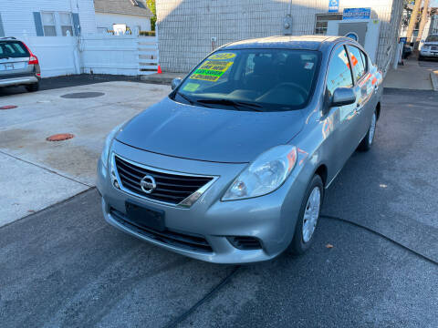 2012 Nissan Versa for sale at Quincy Shore Automotive in Quincy MA