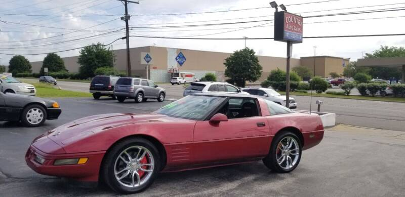 1994 Chevrolet Corvette for sale at Country Auto Sales in Boardman OH