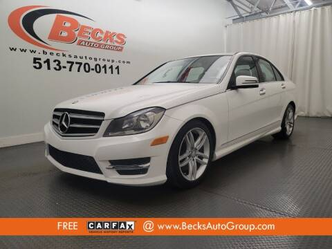 2014 Mercedes-Benz C-Class for sale at Becks Auto Group in Mason OH