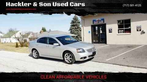 2010 Mitsubishi Galant for sale at Hackler & Son Used Cars in Red Lion PA