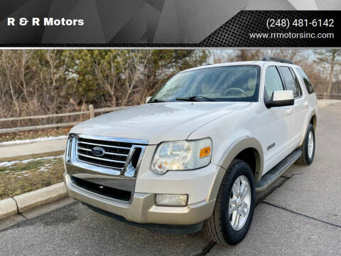 2008 Ford Explorer for sale at R & R Motors in Waterford MI